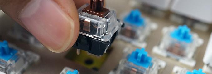 免电烙铁更换轴体---狼派CIY换轴技术详解