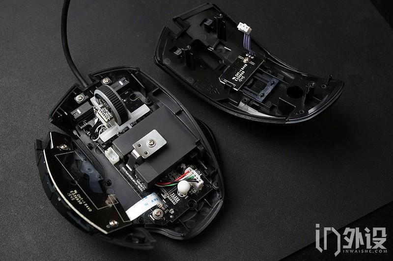 达尔优dm60游戏鼠标拆解评测