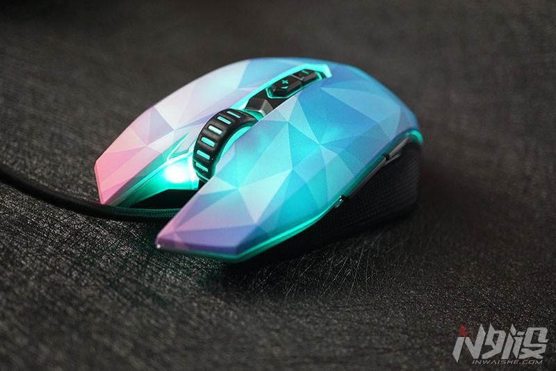 达尔优EM925钻石版游戏鼠标拆解评测