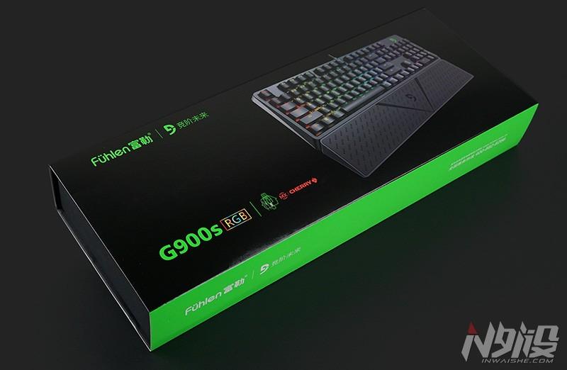 富勒G900S RGB机械键盘拆解评测