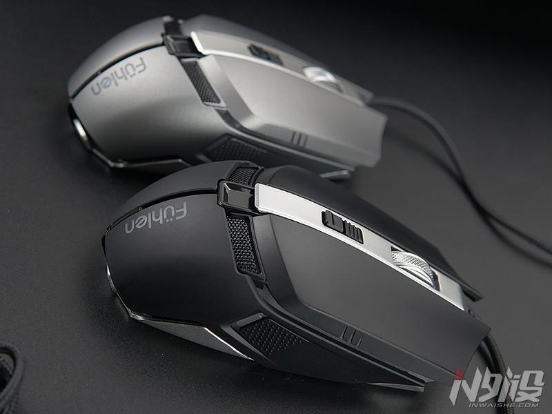富勒CO510金属底座游戏鼠标体验