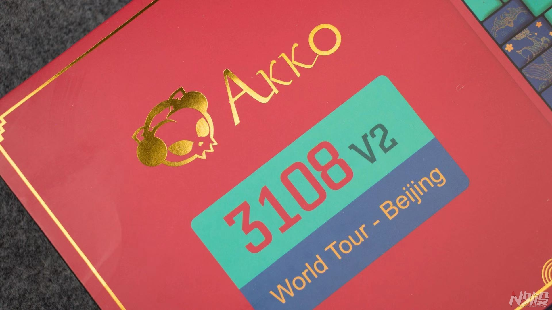 桌面上的故宮——akko世界巡回之3108v2北京機械鍵盤開箱