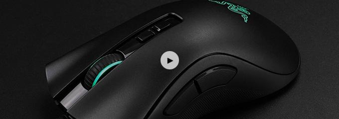 雷蛇炼狱蝰蛇v2游戏鼠标拆解视频